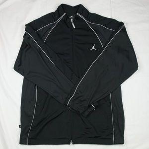 Jordan black zipper jacket size L